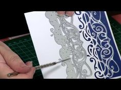Here's craft expert Nancy Watt with her top tips on how to get the most out of your Tattered Lace dies! Visit Create and Craft now for the wonderful collecti. Card Making Tips, Card Making Tutorials, Card Making Techniques, Fancy Fold Cards, Folded Cards, Mini Albums, Crafters Companion Gemini, Tattered Lace Cards, Embossed Cards