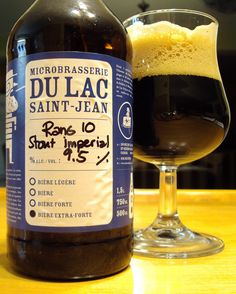 Rang 10 Stout Imperial Microbrasserie Du Lac St-Jean via craftbeerquebec.ca #dégustation #bière #microbrasserie #québec #bièreduquébec #lacstjean #boirelocal #craftbeerqc #bièreqc #drinkcraft #craftbeer #stout #beerreview #imperialstout