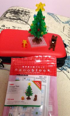 Nano block Christmas tree
