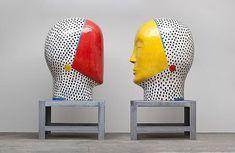 Les têtes géantes de Jun Kaneko