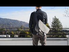 "Shadow, gray fibre | Modern Shoulder Bags for 12-15"" Mac/PC - booqbags"