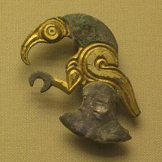 Anglo Saxon animal ornament
