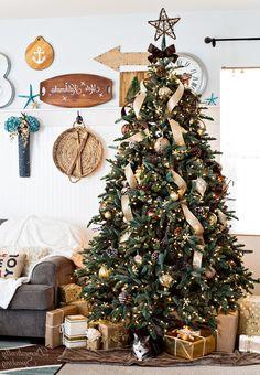 Astounding Rustic Christmas Tree