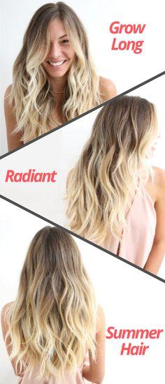 Grow Radiant Hair For Summer!