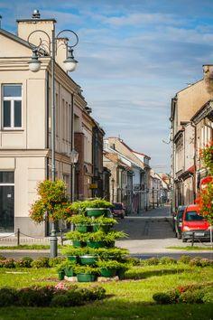 Szewska (Shoemaker) street in Radom, Poland