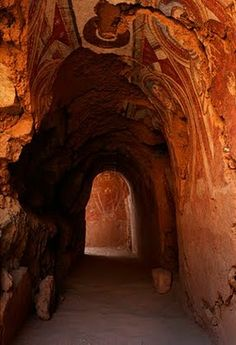 Marco Polo, Genghis Khan, China and the Silk Road: Excavation of Tuyugou Grottoes in Shanshan County, Xinjiang