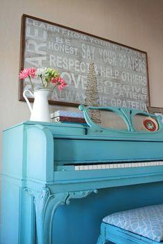 Blue piano  represents  a mellow mood that everyone has. (p. 153).