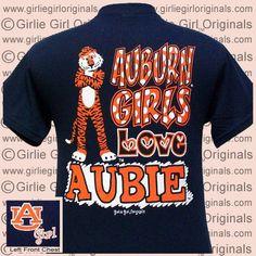Auburn T-Shirt: Auburn Girls (Short Sleeve)