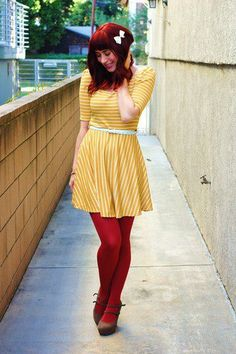 Difference Between White and Saffron Dress | Modcloth ~ {I want to live in this dress!!}