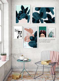 Plant Prints, Printable Wall Art, Botanical Art, Tropical Leaf Print, Digital Print Download, Instant Download Printable Art, Leaves Print by #PrintsProject