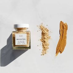 The Brighten Mask Exfoliating mask brightening honey mask Clay Face Mask, Homemade Facials, Homemade Scrub, Clay Faces, Natural Exfoliant, Exfoliate Face, Dull Skin, Radiant Skin, Skin Brightening