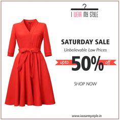 Presenting exclusive Saturday sale! Get the perfect weekend look with these stunning picks.