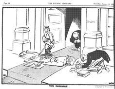 David Low cartoon from 1933 regarding the Japanese invasion of Manchuria.