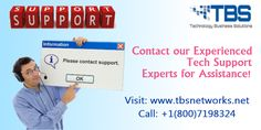 Experienced Tech Support Experts for Assistance TBS networks provide the best technology support services which includes major services like help desk, outsourcing, hosting plans, network management and cloud computing etc. Visit: http://www.tbsnetworks.net/