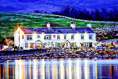 The Wine Press Hollingworth Lake Rochdale - Printed on high quality synthetic canvas and branded inks British Pub, Great British, Places Ive Been, Places To Go, Wine Press, Rochdale, Department Store, Art Museum, Archive
