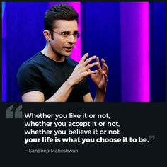 Top 10 Sandeep Maheshwari Motivational Quotes - Make Sure to Change Your Point of View about Life and Success – Infinity Sayings Motivational Quotes For Students, Motivational Quotes For Success, Best Inspirational Quotes, True Quotes, Positive Quotes, Best Quotes, Quotes Motivation, Favorite Quotes, Motivational Speeches