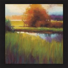 Marla Bagetta 'Spectral Morning' Framed Art Print - Overstock Shopping - Top Rated Canvas