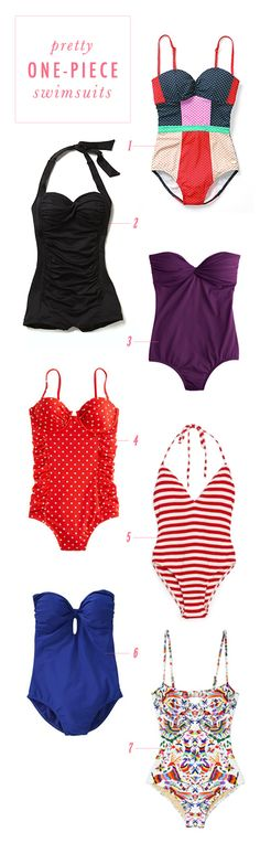 7 beautiful swimsuits