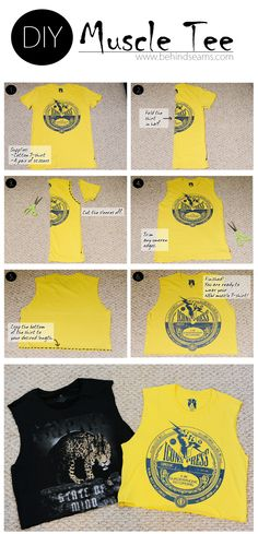.: DIY: The Muscle Tee. Gonna try this.