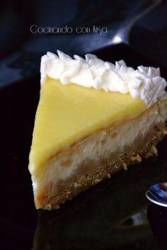 cheesecake doble de limón
