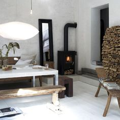 The design studio opened in 1999 by Interior Designer Gro Sævik. X-Po Design develops interior for public and privat spaces, as w. California Homes, Beautiful Interiors, Decoration, Interior Inspiration, Sweet Home, Home Appliances, Contemporary, Dining, Living Room