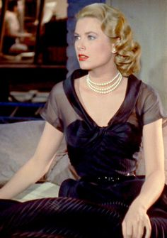 Grace Kelly ~ Rear Window, 1954