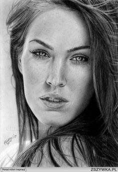 Portrety rysowane ołówkiem