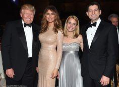 Trump & Ryan & wives, 1/19/17