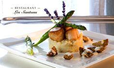 Les Santons : cuisine gastronomique à Grimaud