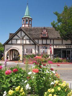 Summer morning in Solvang, Santa Barbara, California.  Love the shops and food in Solvang !