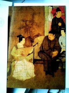 big size card】古典绘画系列Chinese Class Painting Series.韩熙载夜宴图Night Revels of Han Xizai .五代,顾闳中Gu Hongzhong ,Five Dynasties.