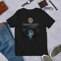 Nothing stays dead for long if you make the Graveyard your other Library. Sac it and send it back! Zombie T Shirt, The Gathering, Mtg, Fabric Weights, Shirt Designs, Fancy, Casual, Cotton, Mens Tops