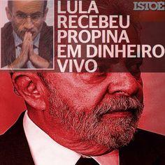 Marcelo Odebrecht: Lula Recebeu Propina em Dinheiro Vivo [Revista IstoÉ] http://istoe.com.br/lula-recebeu-propina-em-dinheiro-vivo ②⓪①⑥ ①① ①① #ILoveLula