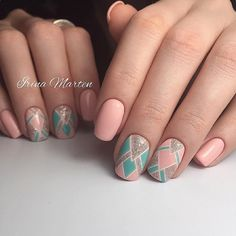 Image in Nails collection by ℒŮℵẴ on We Heart It Hot Nails, Pink Nails, Cute Summer Nails, Dream Nails, Beautiful Nail Designs, Nagel Gel, Perfect Nails, Simple Nails, Manicure And Pedicure