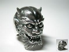 Creep Japanese ring designed by tattoo legend Horiyoshi III