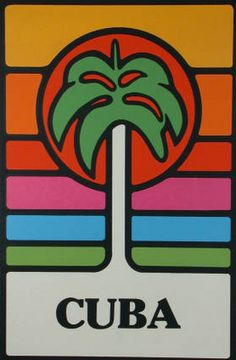 1980s Cuban posters  via identical eye