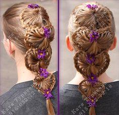 Multible lace braids
