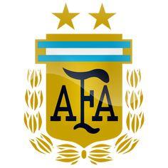 Argentina Logo for Dream League Soccer Argentina Football Team, Argentina Soccer, Football Team Logos, National Football Teams, World Football, Argentina Logo, Manchester United, Mundial Sub 17, Badges