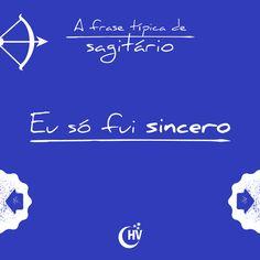 Frase de Sagitário. #horóscopovirtual #signos #zodíaco #frases #sagitário