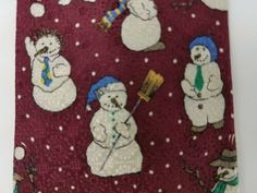Barbara Blank Mens Red Snowman All Silk Necktie Tie EUC #ties (ebay link) Snowman, Ties, Kids Rugs, Detail, Ebay, Kid Friendly Rugs, Neck Ties, Tie, Snowmen