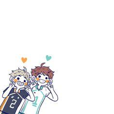 Chibi Characters, Haikyuu Characters, Haikyuu Manga, Haikyuu Fanart, Anime Chibi, Anime Art, Haikyuu Wallpaper, Cute Notes, Anime Stickers