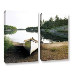 Silent Retreat 1 by Ken Kirsh 2 Piece Photographic Print on Gallery Wrapped Canvas Set