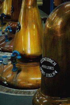 Glenfiddich Distillery, Dufftown, Scotland by dilettantiquity, via Flickr