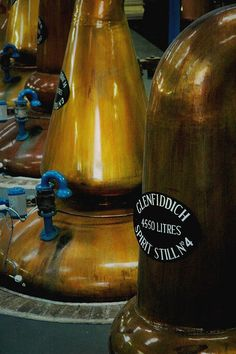 Glenfiddich Distillery, Dufftown, Scotland by dilettantiquity, via Flickr