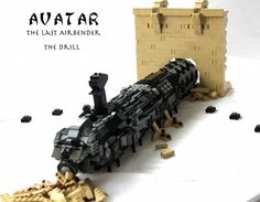 Lego Avatar The Last Airbender: The Drill