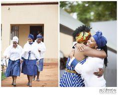 Katlego & Lebogang's Traditional Wedding {Rustenburg} - Johannesburg Wedding Photographers: As Sweet As Images Setswana Traditional Dresses, Traditional Wedding Decor, African Attire, African Wear, African Women, Shweshwe Dresses, African Fashion Designers, Africa Fashion
