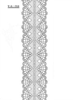 Esta liga la he visto en internet y me ha gustado.  Espero que a vosotr@s  también Border Embroidery Designs, Romanian Lace, Bobbin Lacemaking, Types Of Lace, Bobbin Lace Patterns, Lace Heart, Parchment Craft, Lace Jewelry, Lace Garter