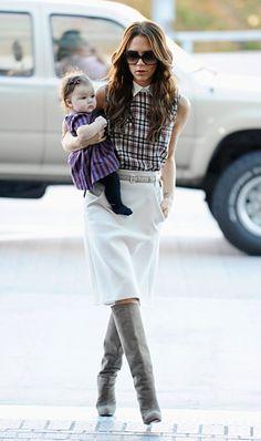 Victoria Beckham's Daughter Harper: Her Poshest Outfits!: November 26, 2011
