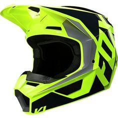 Womens Motocross Gear, Motocross Helmets, Sport Atv, Sport Bikes, Fox Racing, Off Road Helmets, Dirt Bike Gear, Motosport, New Fox