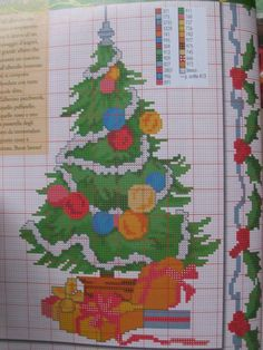aaa Cross Stitching, Cross Stitch Embroidery, Cross Stitch Patterns, Christmas Cross, Xmas, Charts And Graphs, Cross Stitch Baby, Yarn Projects, Vintage Embroidery